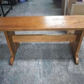 [木製ベンチ]⁑リサイクルショップヘルプ