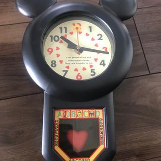 値引しました! ミッキー型  掛け時計