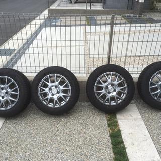 175/65R14 スタッドレスタイヤ ホイールセット【2018...