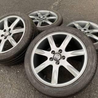 ボルボ V70純正 850R 17インチ 4本セット タイヤ溝あり!