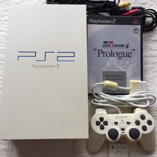 PS2ゲームソフト付きとおまけの8MBメモリー付き