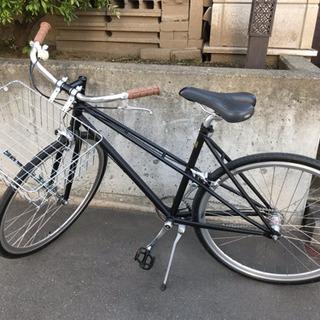 【ほぼ新品】GENDER FOLK 700CC 内装3段変速 自転車