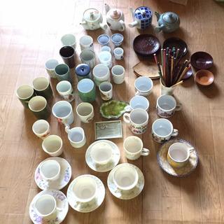 食器大量0円‼︎ (茶碗・急須・皿・茶托・スプーン・フォーク類など)