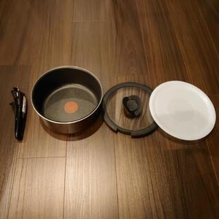【お譲り先が決まりました】ティファール20cm鍋、蓋セット