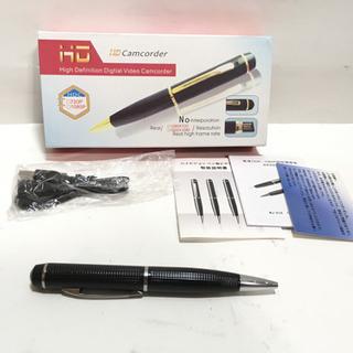 ペン型ビデオカメラ/ボイスレコーダー