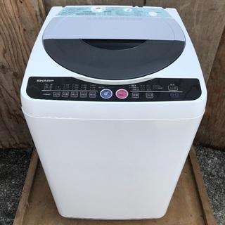 【配送無料】SHARP 6.0kg 洗濯機 ES-FG60H