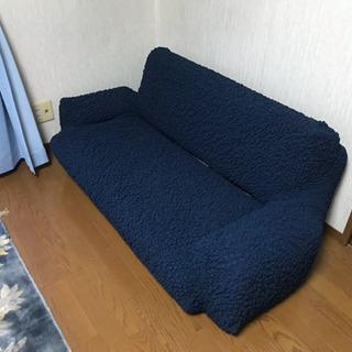 ソファーベッド 2人がけ ほとんど未使用です。