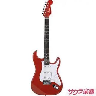 SELDER ストラトギター 赤