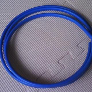 電気工事士 技能試験 練習用ケーブル 青色 2本