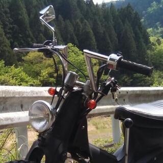 バイク ステンレス Zバーハンドル 汎用22.2ミリ