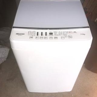 激安ほぼ新品洗濯機です。の画像