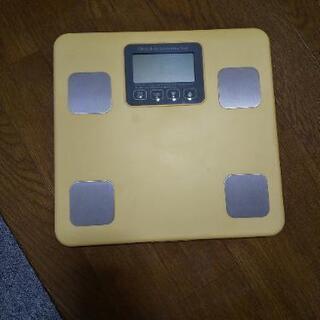 【交渉中】体重体組成計