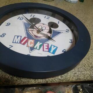 ディズニーの掛け時計