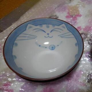 猫柄 ご飯茶碗2個