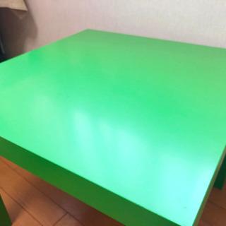 IKEA LACK サイドテーブル(緑)