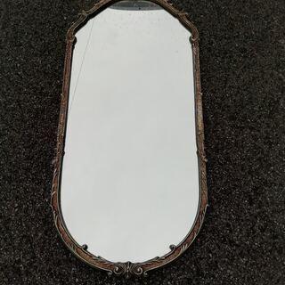レトロ大型壁掛け鏡