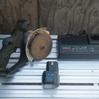 ■現状品■日立工機 コードレス丸のこ C12D 12V 充電器 ...