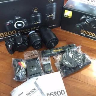 Nikon  D5200 ダブルズームキット