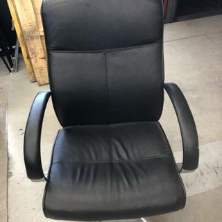 執務用  椅子  ブラック