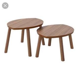 IKEA ストックホルム コーヒテーブル 2点セット