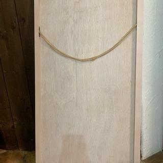壁掛け鏡 ミラー 白木枠 100×52cm