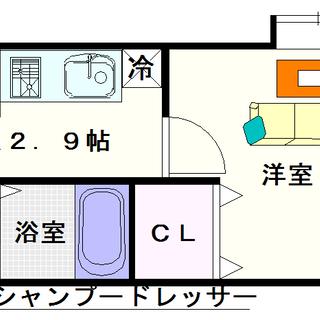 【イカルス日本橋】1号タイプ!1Kタイプ!今大阪で人気の高い街の...