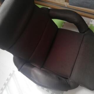座椅子 リクライニング 切り替え式 使用数回数少ないです