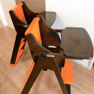 双子ちゃんや歳の近い兄弟に、おそろいチェア 子供用椅子