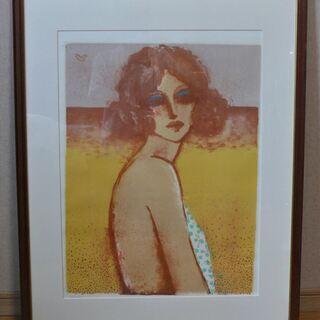 絵画 カシニョール 夏の女