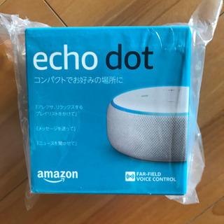 (新品)Echo Dot 第3世代 - スマートスピーカー wi...