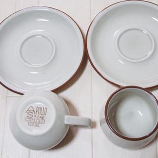 【APOLLO STONE】コーヒーカップ&ソーサ 2つセット...