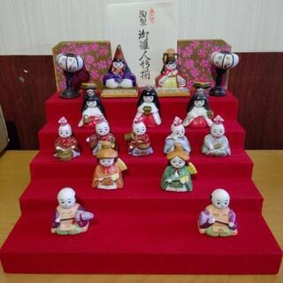 陶器    瀬戸焼の雛人形です。
