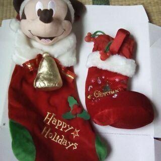 ミッキーマウス クリスマスブーツ