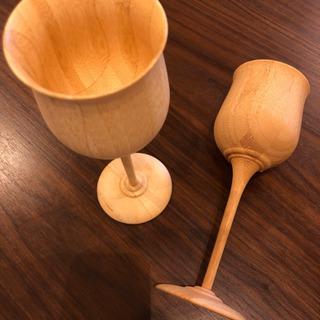 リベレット竹のワイングラス☆2個セット