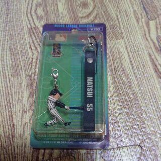 松井秀喜(NY Yankees)55 携帯ストラップ