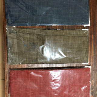 和柄の枕カバー