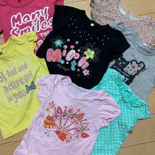 babygapあり!サイズ90女の子Tシャツ7枚セット