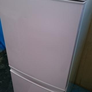 シャープ(SHARP )2013年製 冷蔵庫2ドア つけかえどっ...