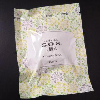 【新品】DUSKIN S.O.S 洗剤付きスチールウールたわし 1個入