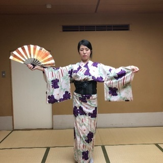 日本舞踊 1カ月2回お試しレッスン