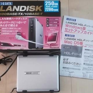 I・O DATA LANDISK (HDD抜)NAS