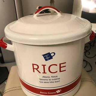 ライス缶*お米入れ*おやつ入れ*キッチン用品