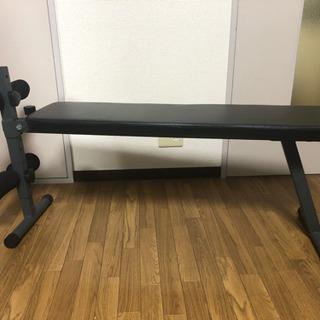 筋トレ用ベンチ(シットアップベンチ)(腹筋 背筋 ダンベルプレス用)