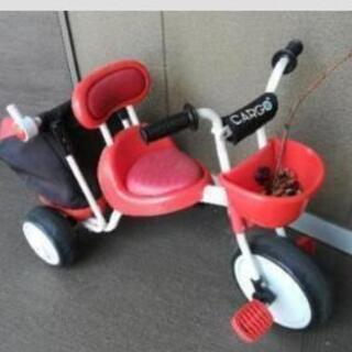 (中古)三輪車 アイデスカーゴ➕おまけで子供服1枚付