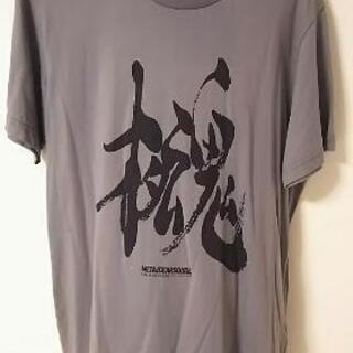 ユニクロ 半袖Tシャツ メタルギア Mサイズ