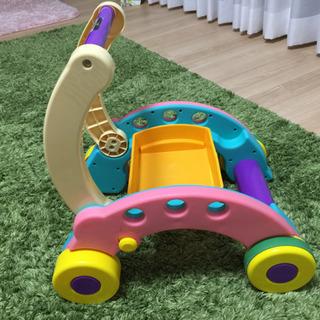 手押し車(ピープル あんよつよい子ウォーカー)&おもちゃ