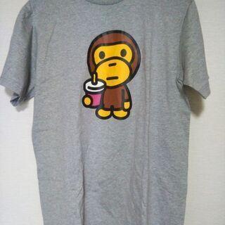 【新品】Tシャツ baby milo Mサイズ グレー