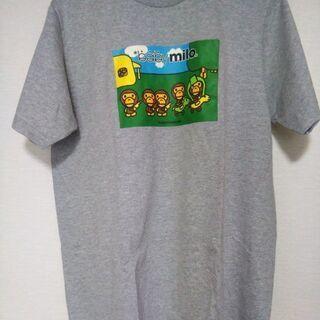 【新品】Tシャツ baby milo Mサイズ グレー2