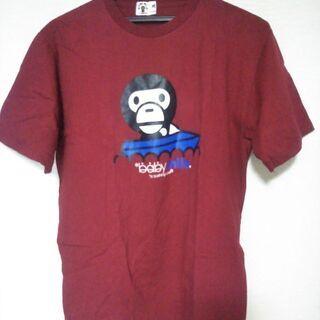 【新品】Tシャツ baby milo Mサイズ 赤