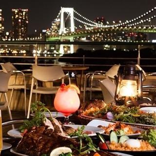 ★縁結び★お台場の夜景の中で贅沢な100名BBQ!主催:オトナを...